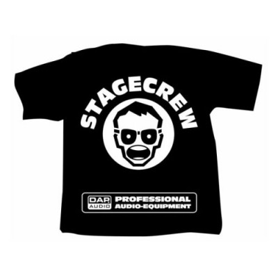DAP AUDIO T-SHIRT STAGECREW L