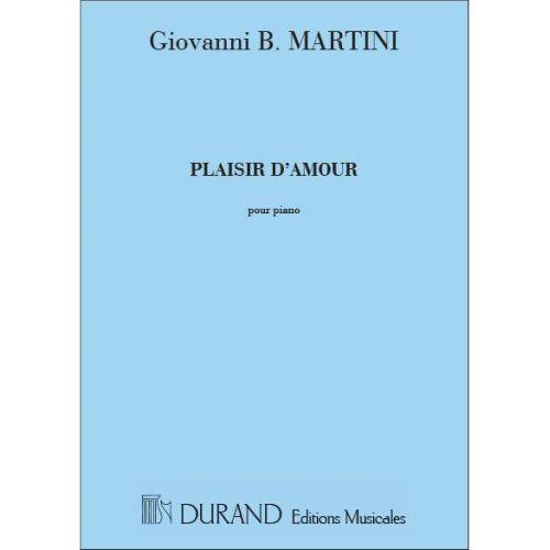 DURAND MARTINI - PLAISIR D'AMOUR - CHANT ET PIANO