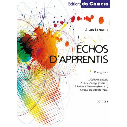 EDITIONS DA CAMERA LENGLET ALAIN - ECHOS D'APPRENTIS - GUITARE