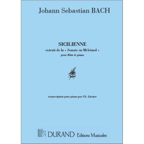 DURAND BACH - SICILIENNE MI B - PIANO
