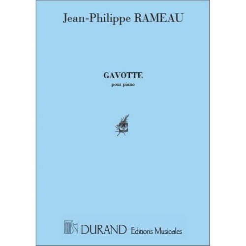 DURAND RAMEAU - GAVOTTE VARIEE - PIANO