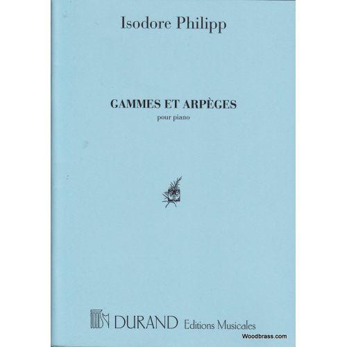 DURAND PHILIPP - GAMMES ET ARPEGES - PIANO