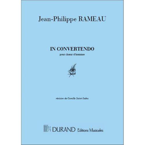 DURAND RAMEAU - IN CONVERTENDO - CHOEURS HOMMES