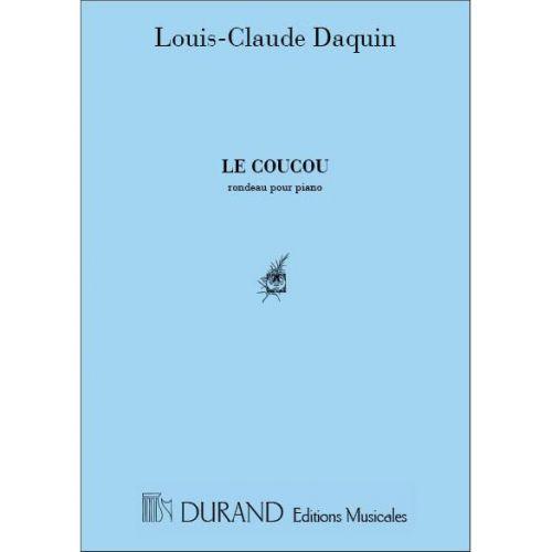 DURAND DAQUIN - COUCOU - PIANO