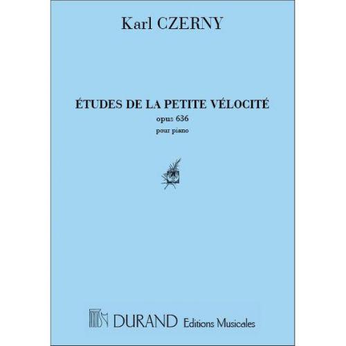 DURAND CZERNY - PETITE VELOCITE OP 636 - PIANO
