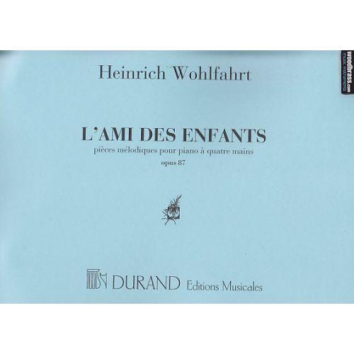 DURAND WOHLFAHRT - AMI DES ENFANTS - PIANO 4 MAINS
