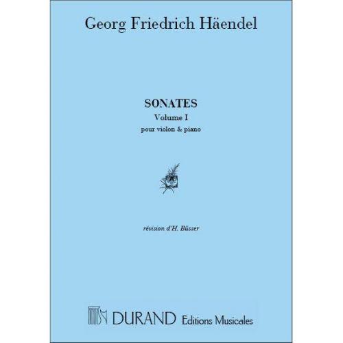 DURAND HAENDEL - SONATES VOL 1 - VIOLON ET PIANO
