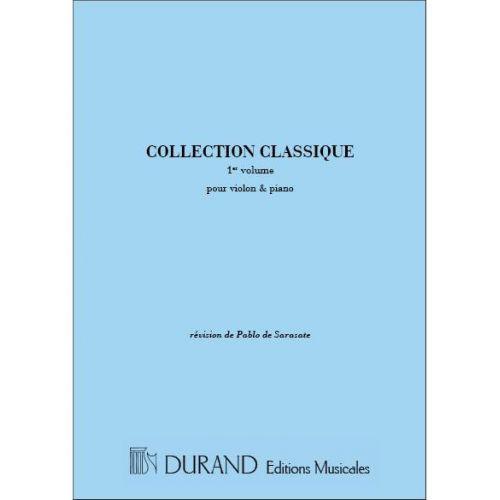 DURAND COLLECTION CLASSIQUE VOL.1 - VIOLON ET PIANO