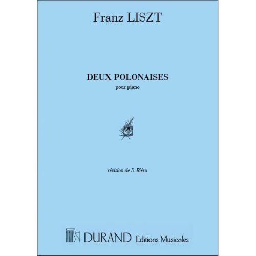 DURAND LISZT - 2 POLONAISES - PIANO
