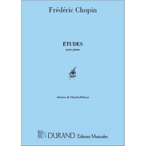 DURAND CHOPIN F. - ETUDES - PIANO