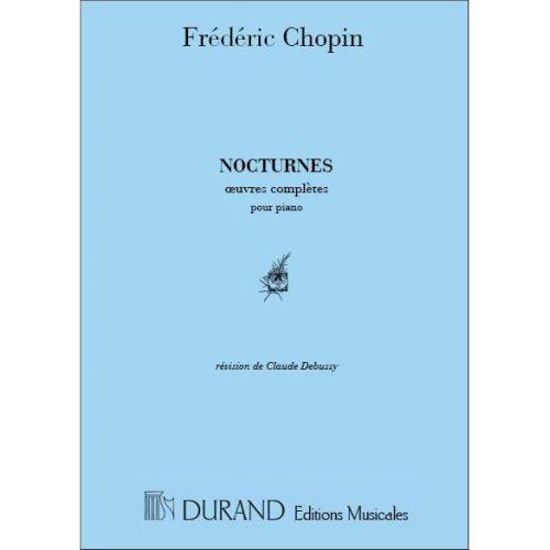 DURAND CHOPIN F. - NOCTURNES - PIANO