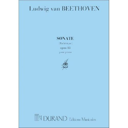 DURAND BEETHOVEN L.V. - SONATE N 8 - PIANO