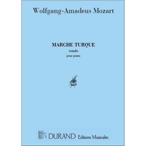 DURAND MOZART - MARCHE TURQUE - PIANO