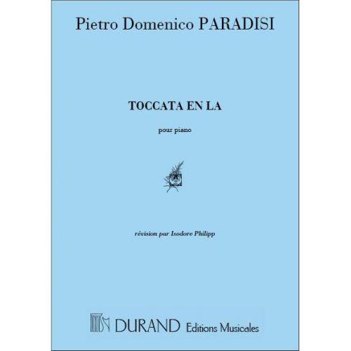 DURAND PARADISI - TOCCATA EN LA - PIANO