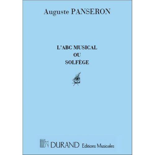 DURAND PANSERON - ABC MUSICAL