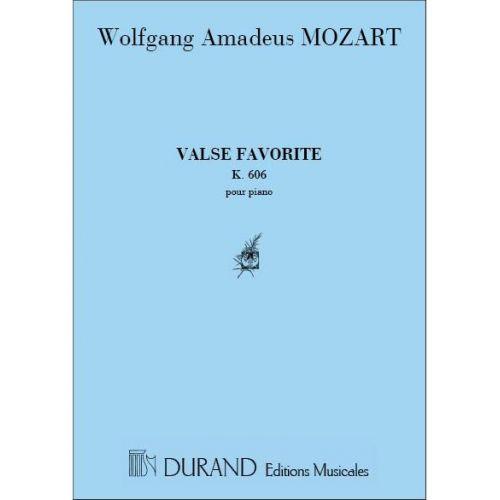 DURAND MOZART - VALSE FAVORITE - PIANO