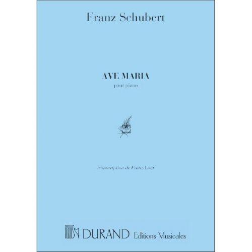 DURAND SCHUBERT F. - AVE MARIA - PIANO