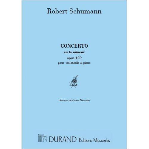 DURAND SCHUMANN - CONCERTO - VIOLONCELLE ET PIANO