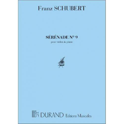 DURAND SCHUBERT F. - SERENADE VIOLON/PIANO