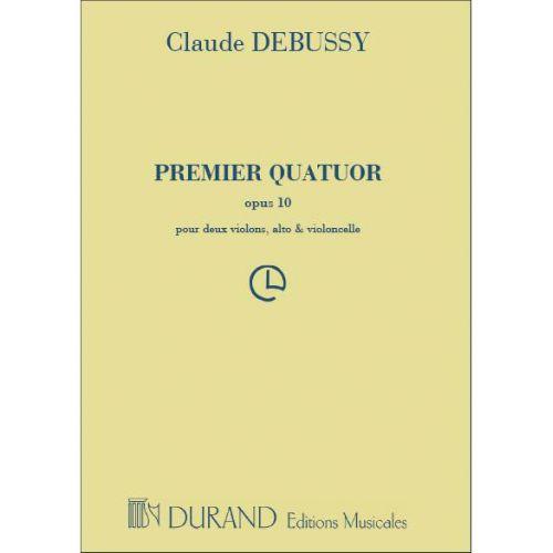 DURAND DEBUSSY CLAUDE - QUATUOR A CORDES EN SOL MINEUR OP.10 - ENSEMBLE CORDES
