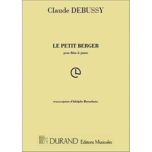 DURAND DEBUSSY C. - PETIT BERGER - FLUTE ET PIANO