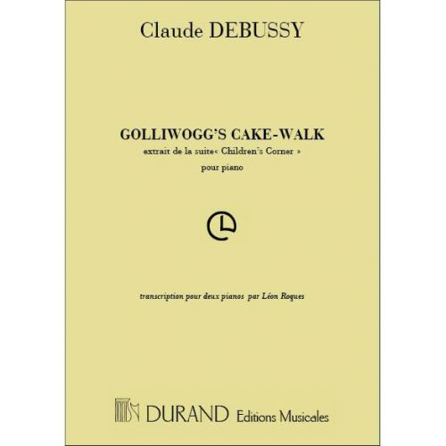 DURAND DEBUSSY C. - GOLLIWOGG'S CAKE-WALK - 2 PIANOS