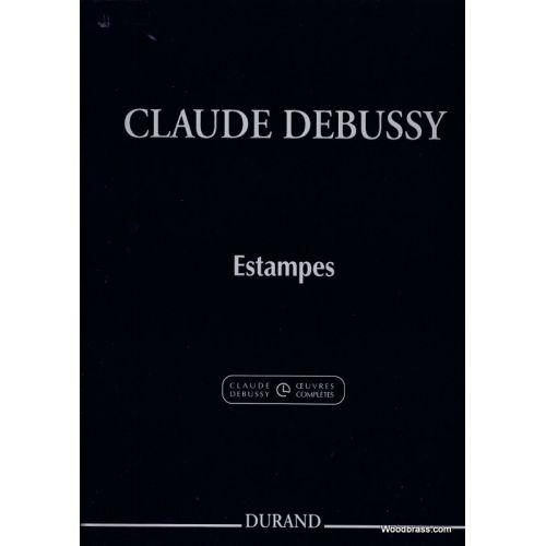 DURAND DEBUSSY C. - ESTAMPES - PIANO