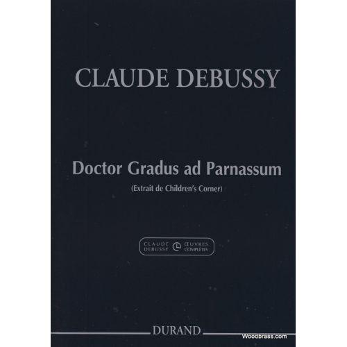 DURAND DEBUSSY CLAUDE - DOCTOR GRADUS AD PARNASSUM - PIANO