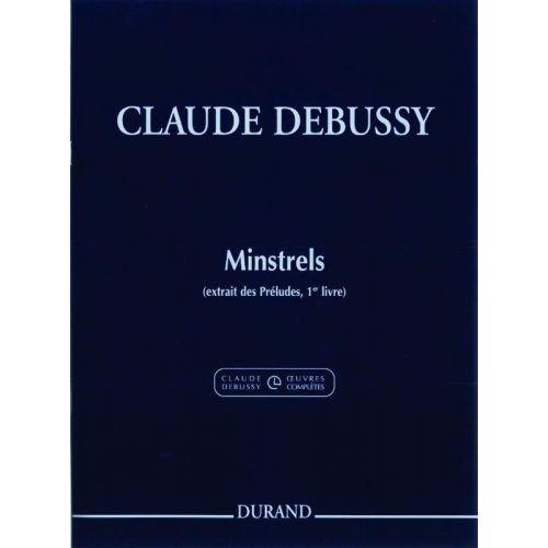 DURAND DEBUSSY CLAUDE - MINSTRELS - PIANO