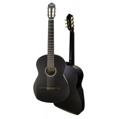 DEA GUITARS ERGONOMIC STD N 4/4 BLACK SATIN