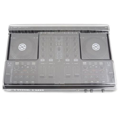 DECKSAVER DECK SAVER SMOKED CLEAR TRANSPARENT FUR TRAKTOR KONTROL S4