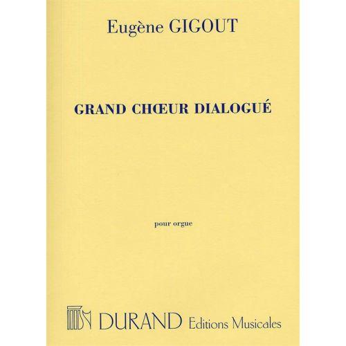 DURAND GIGOUT - GRAND CHOEUR DIALOGUE - ORGUE