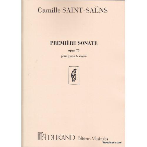 DURAND SAINT SAENS C. - SONATE N 1 OP 75 - VIOLON ET PIANO