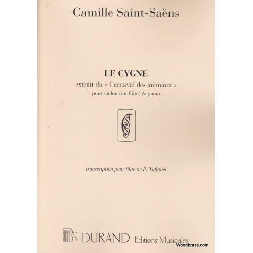 DURAND SAINT SAENS C. - LE CYGNE - VIOLON (OU FLUTE) ET PIANO