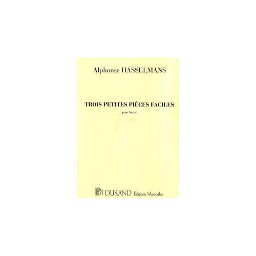 DURAND HASSELMANS H. - TROIS PETITES PIECES FACILES - HARPE