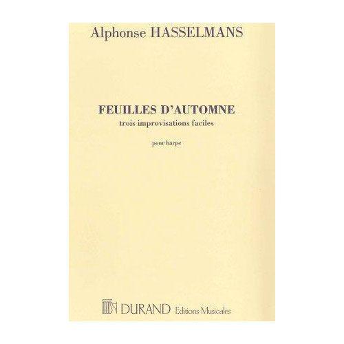 DURAND HASSELMANS A. - FEUILLES D'AUTOMNE - HARPE