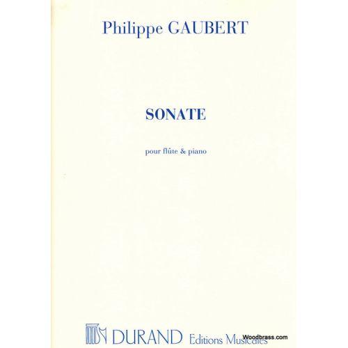 DURAND GAUBERT - SONATE - FLUTE ET PIANO