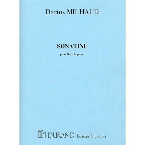 DURAND MILHAUD - SONATINE - FLUTE ET PIANO