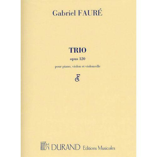 DURAND FAURE - TRIO OP 120 - VIOLON, VIOLONCELLE ET PIANO