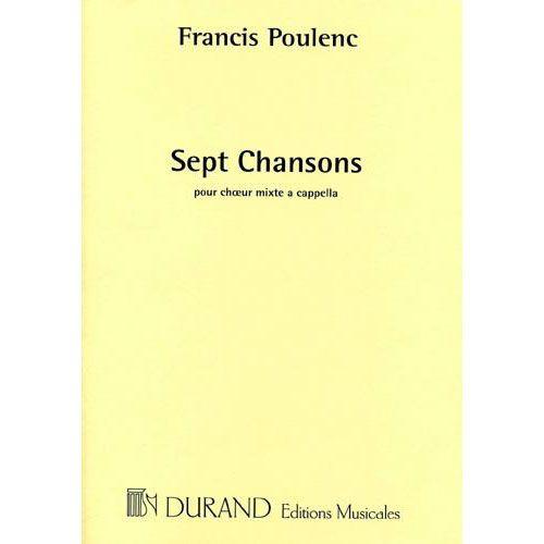 DURAND POULENC F. - MARIE - CHOEUR