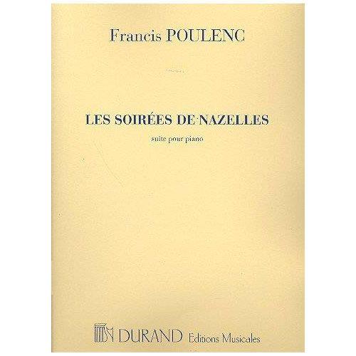 DURAND POULENC F. - SOIREES DE NAZELLES - PIANO