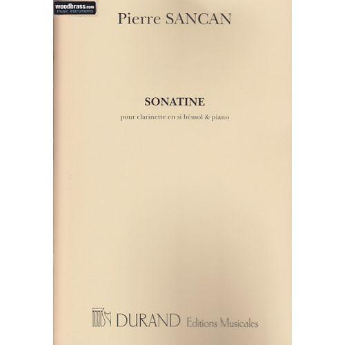 DURAND SANCAN P. - SONATINE EN SIB - CLARINETTE ET PIANO