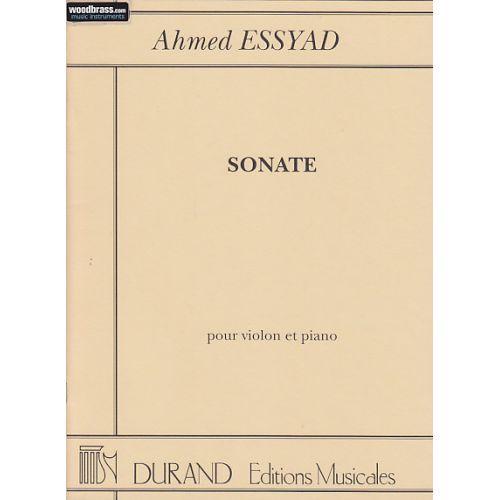 DURAND ESSYAD - SONATE - VIOLON ET PIANO