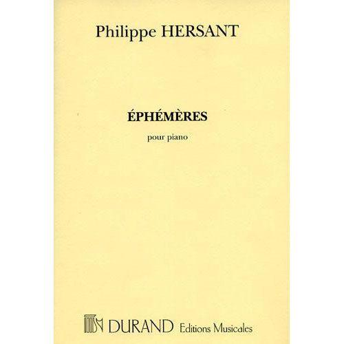 DURAND HERSANT P. - EPHEMERES - PIANO