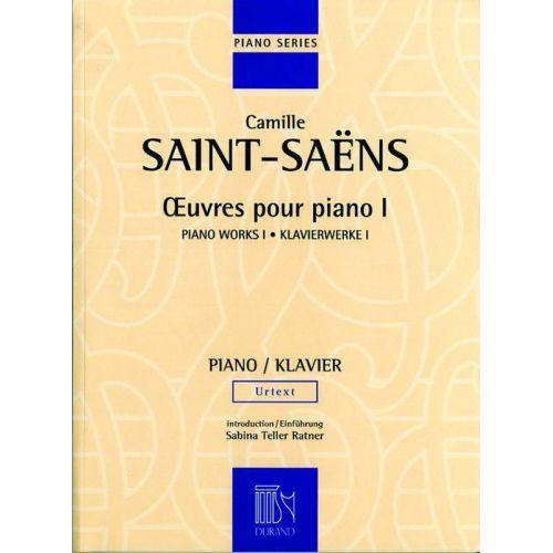 DURAND SAINT-SAENS C. - OEUVRES POUR PIANO - VOLUME I - PIANO