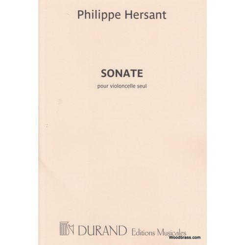 DURAND HERSANT P. - SONATE - VIOLONCELLE