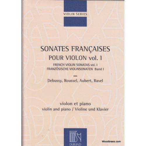 DURAND SONATES FRANCAISES - VIOLON ET PIANO