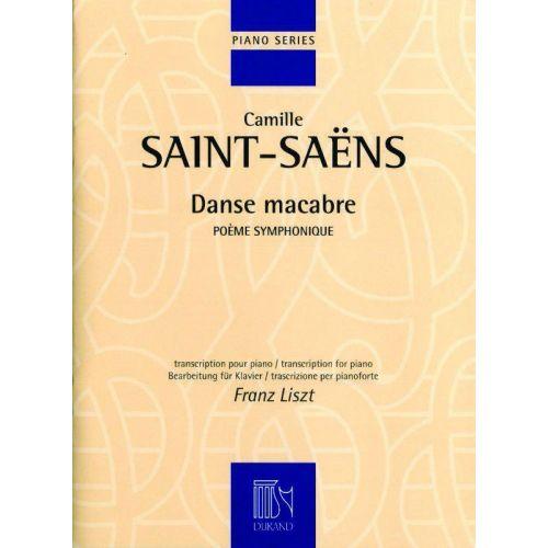 DURAND SAINT-SAENS C. - DANSE MACABRE - PIANO