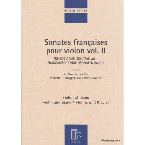 DURAND SONATES FRANCAISES VOL.2 - VIOLON ET PIANO