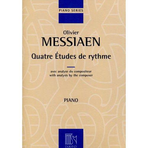 DURAND MESSIAEN O. - QUATRE ETUDES DE RYTHME - PIANO